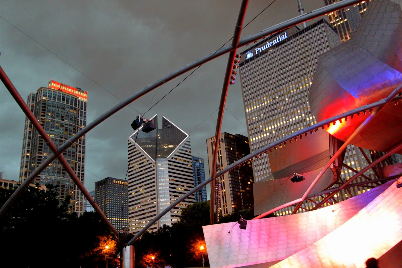 Gehry, Jay Pritzker Pavilion Chicago