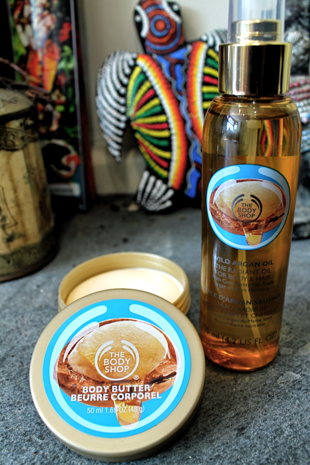 Body Shop Argan Body Butter review Argan Oil review