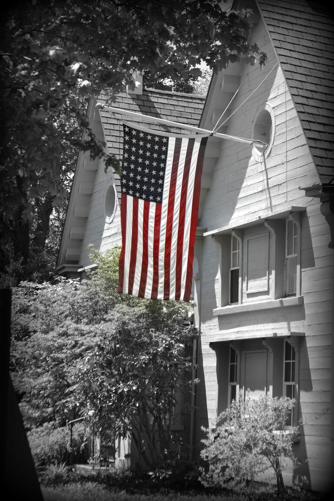 48 stars, flag, united states, 4th of july, independence day, 2014, salem, massachusetts