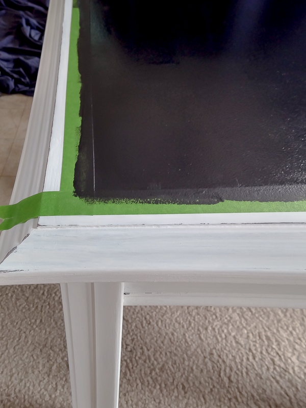 Create a unique activity set for kids from mismatched furniture. Painted in complimentary colors, you'll create something totally unique! See the process at DIY beautify