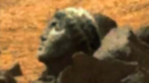 Se ha encontrado la cabeza de una estatua del dios Apolo en Marte