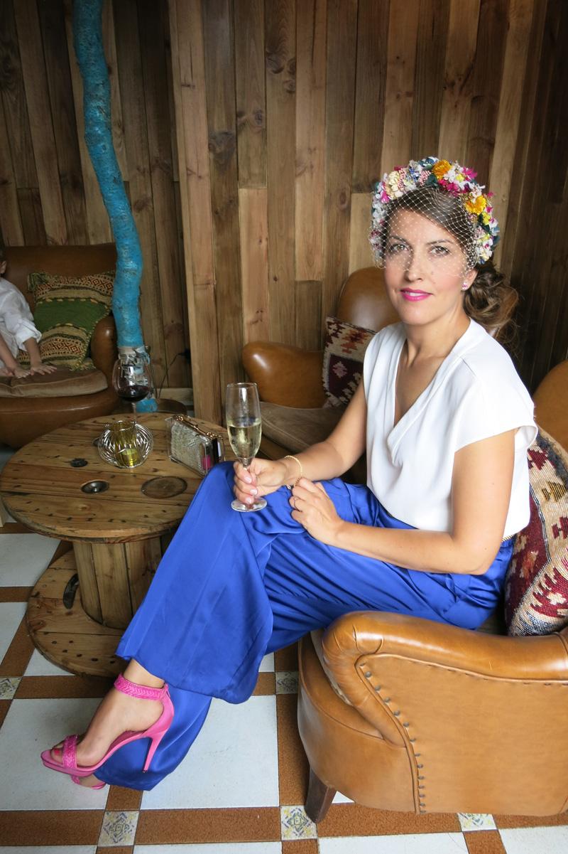 DEF Deco - Decorar en familia: Diy diadema de flores preservadas y secas15