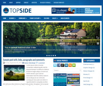 Topside Blogger Template