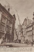 Brandweeropstellingen en vrijwaren van het archief in de Leuvenstraat