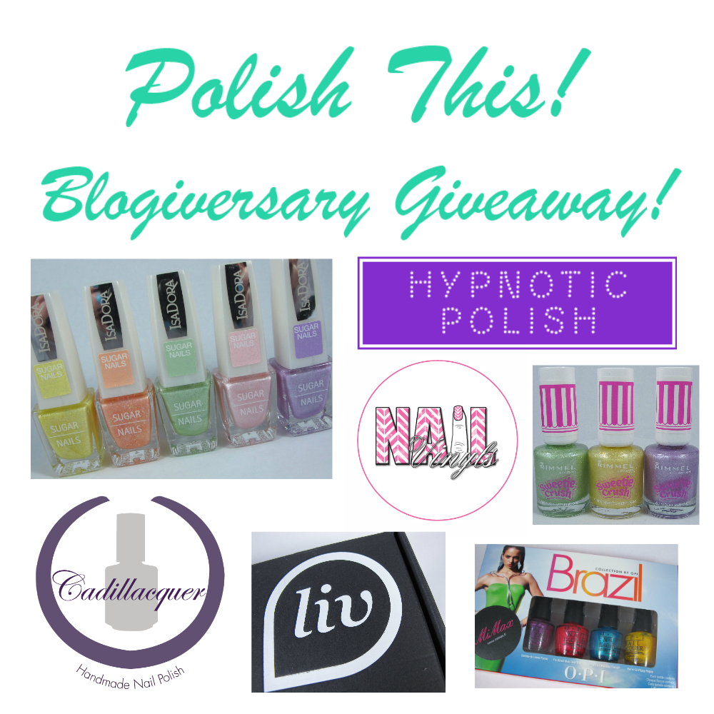 http://polishthis.blogspot.fi/2014/04/huge-blogiversary-giveaway.html