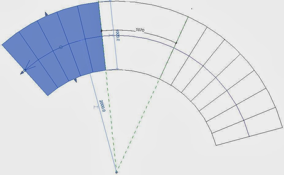 how to draw parking curves in revit