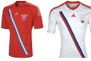 Kostum Rusia Euro 2012