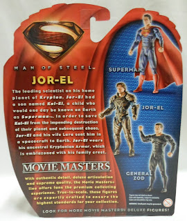Mattel Man of Steel Movie Masters Jor-El Figure