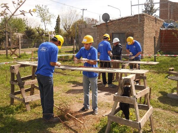 Ford Argentina Mes del Voluntariado Global