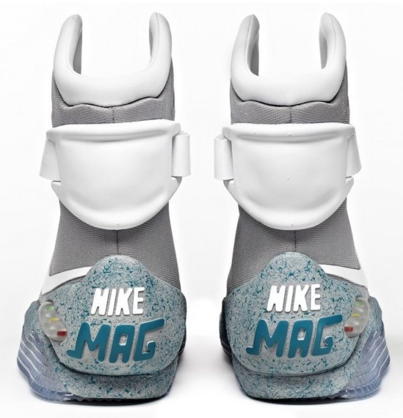 Tinker Hatfield Nike Air MAG Marty McFly's