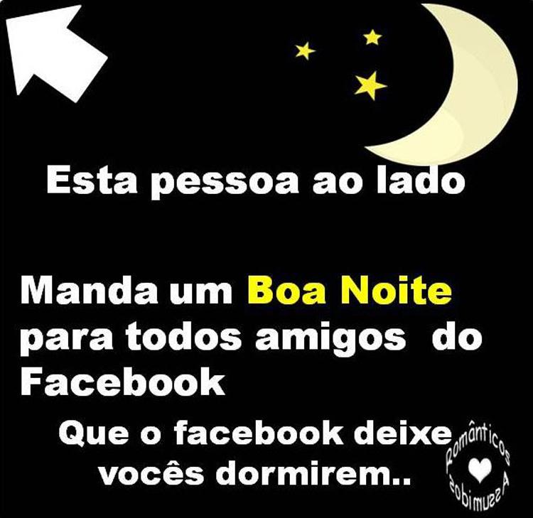 Boa Noite - Imagens, Mensagens e Frases para Facebook