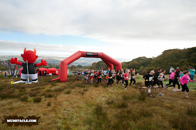 Demon Run 5 mile start Wales