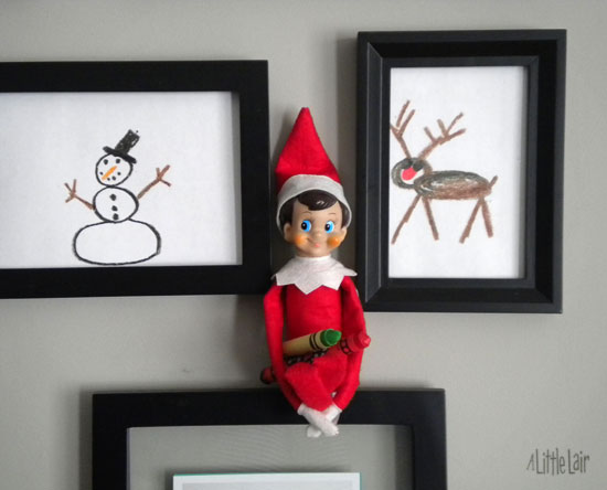 Christmas Elf Mischief!  Everyday Magic blog.
