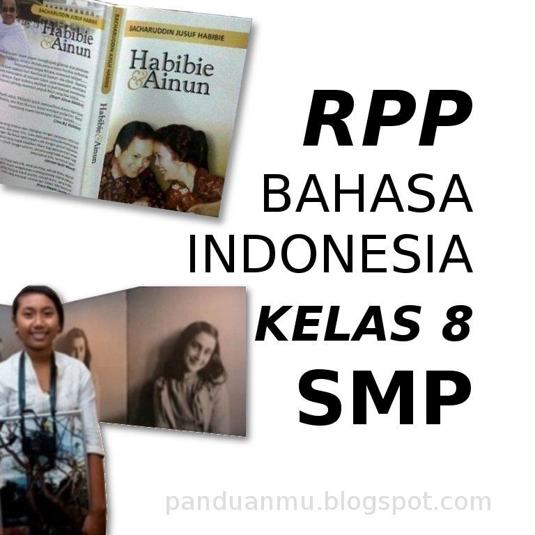RPP Indonesia 8 SMP Biografi