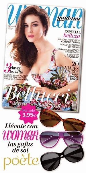 Regalos revistas Abril 2014: Woman - gafas de sol de Poète