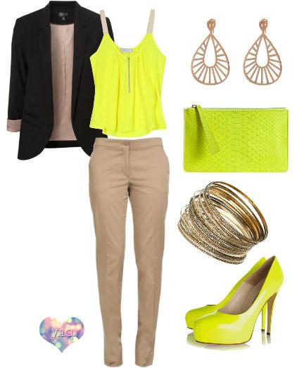 Y a q blog de moda inspiraci n y tendencias y - Que colores combinan con el beige ...