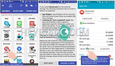 Memindahkan Aplikasi Android Ke Memori Eksternal