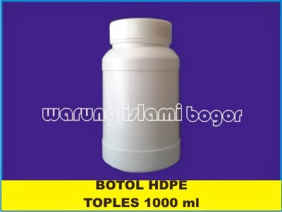 Jual Botol Toples HDPE 1000ml