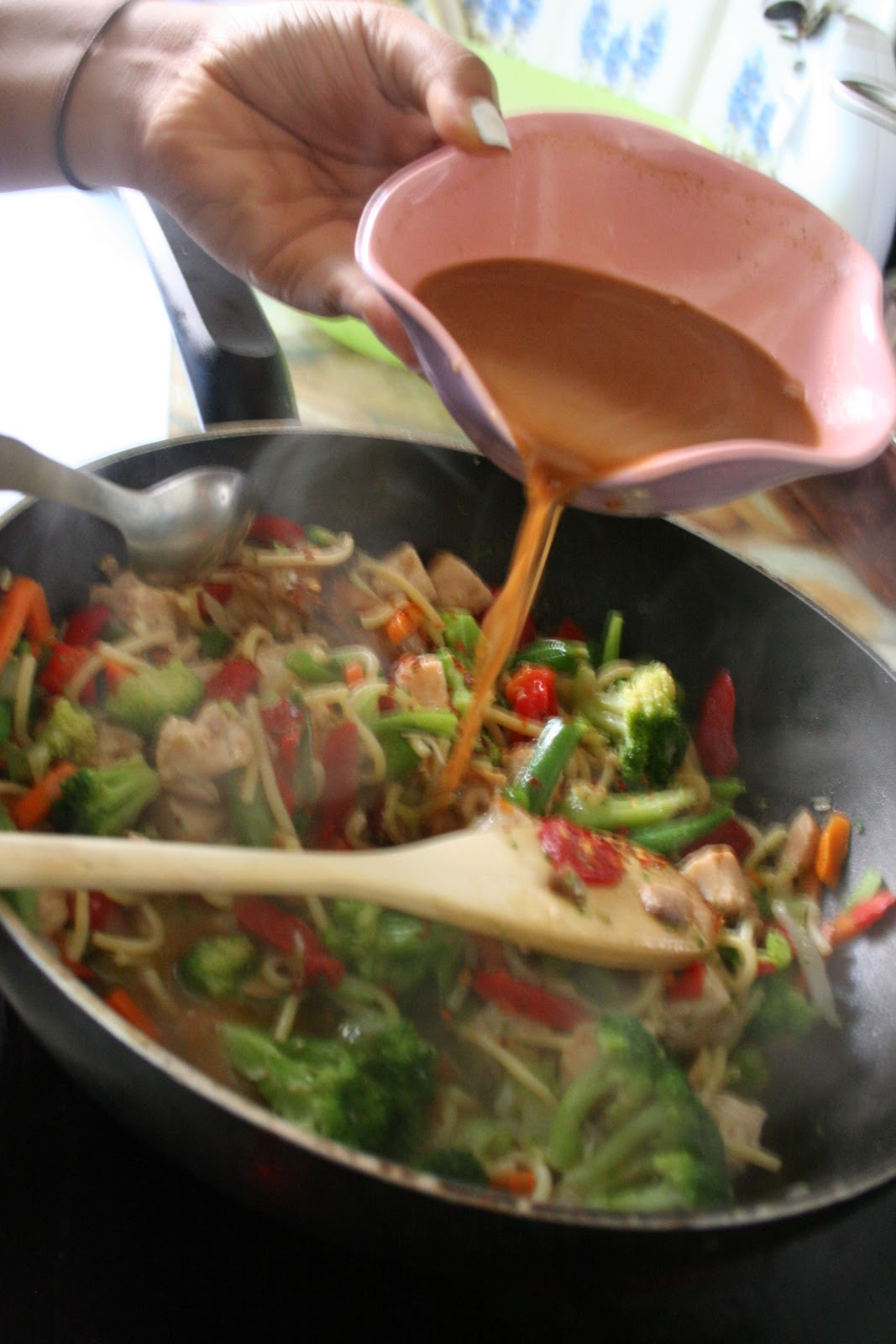 how to cook stir fry veggies
