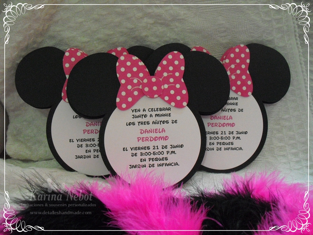 Minnie Mouse Babyshower Invitations as best invitations template