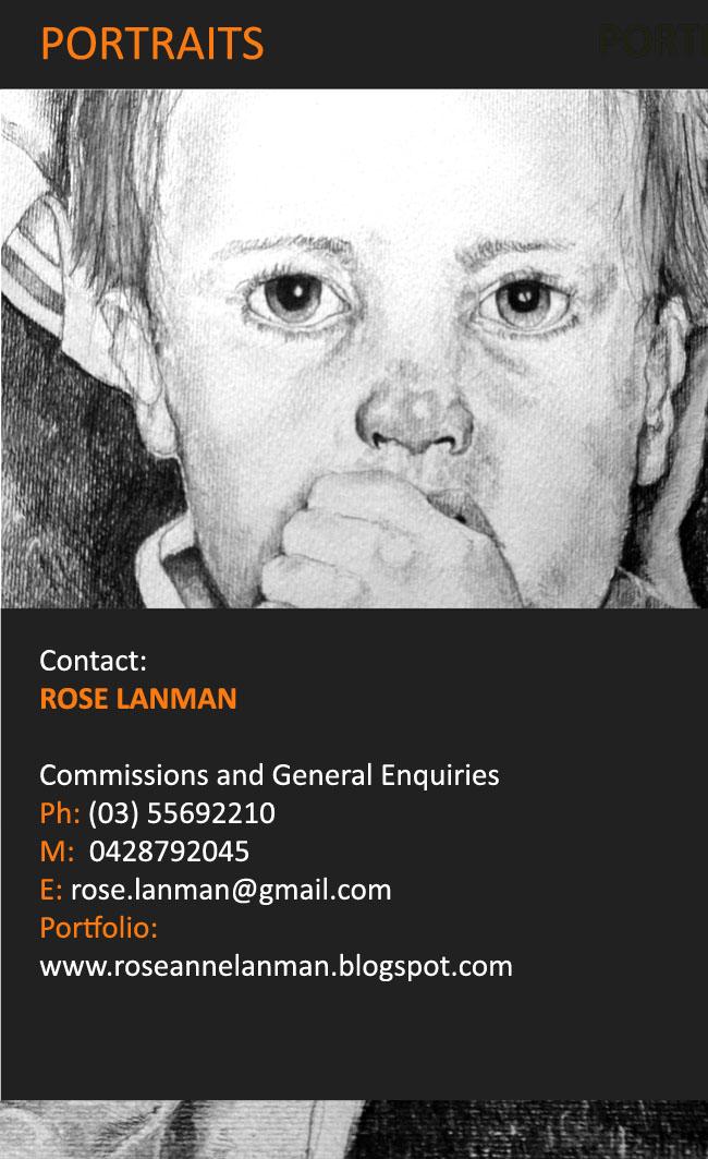 Rose Anne Lanman Artist/Illustrator (website coming soon): Portrait ...