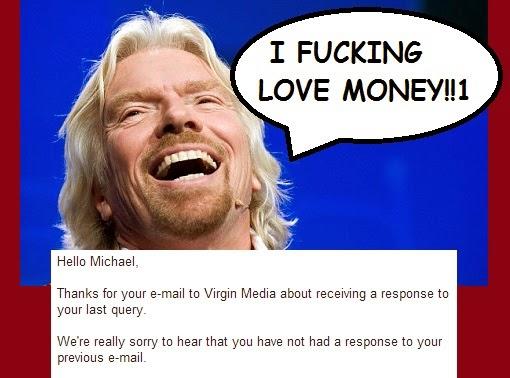 Virgin Media Customer Services
