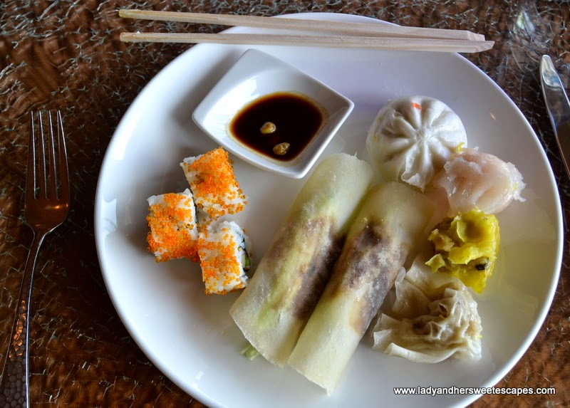 Asian dishes from Minato in Radisson Blu Dubai