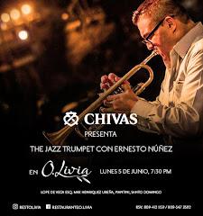 Jazz en O.Livia presenta este lunes 5 de Junio a las 7:30PM: