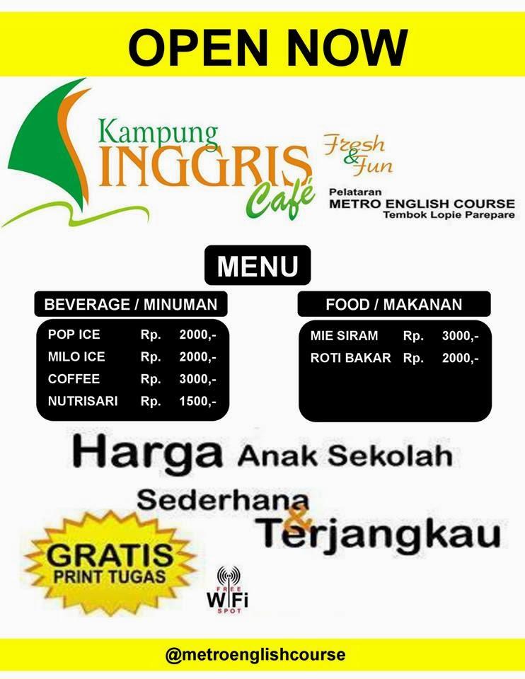 Kampong inggris Cafe
