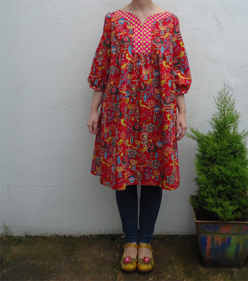 Finished frock: dress T from Stylish Dress Book