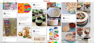 Pinterest Party Board