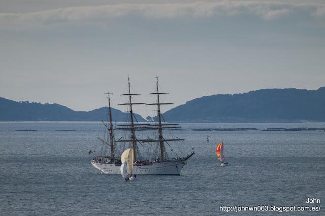gorch fock, deutsche marine, buque escuela, marina alemana, fotos de barcos, vigo