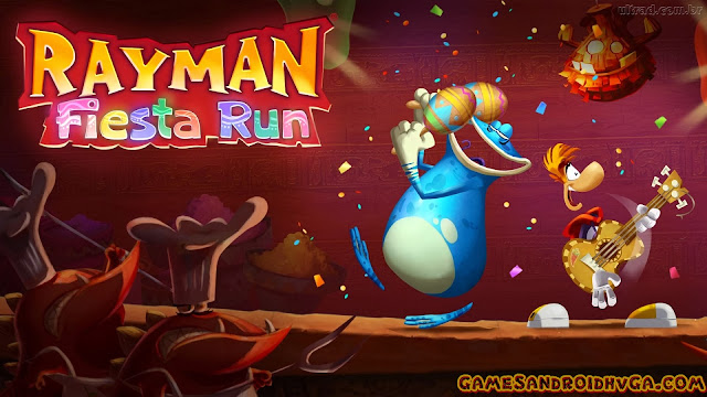 Rayman Fiesta Run Apk v1.1.0 + Data Mod [Unlimited Gold]