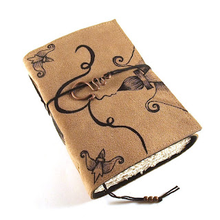 'BRUSH' Leather Notebook/Journal