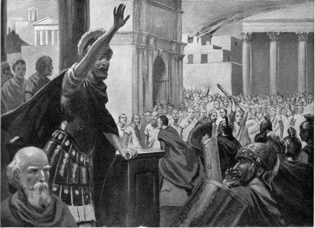 Roman mob