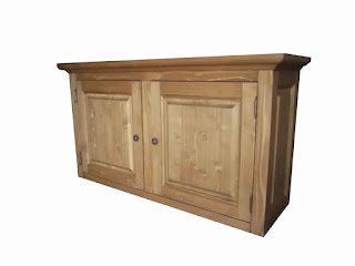 meuble de cuisine en bois brut