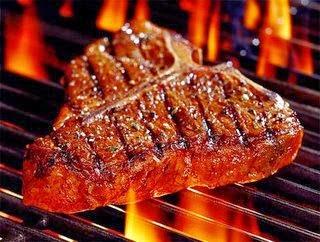 cara aman dan sehat membakar daging