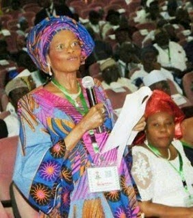 Former NAFDAC Director General and one-time Minister of Information Mrs Dora Akunyili