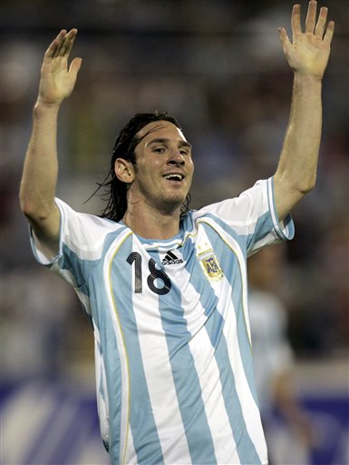 messi argentina 10. Number: 10. Youth career