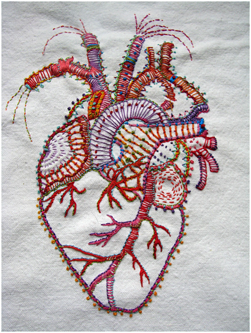 Art threads friday inspiration hand embroidery