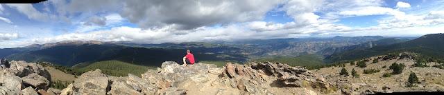 CO Chief Mountain, near Mt. Evans