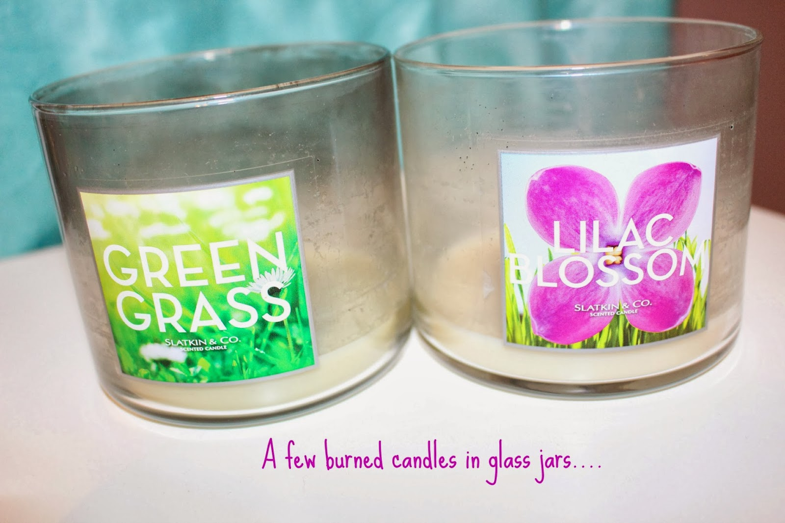 Linds & Bells: Old Candle Jars? Try this...