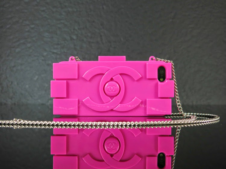 FLY FASHION:  CHANEL PLATIC (LEGO) CLUTCH AND iPHONE CASE IN MULTICOLORS