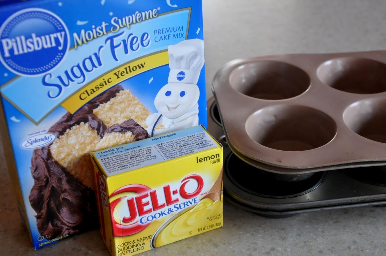 Adding Lemon Pudding To Cake Mix