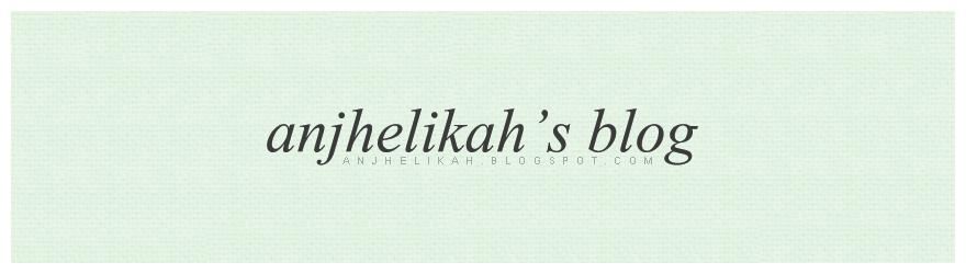 Anjhelikah's Blog