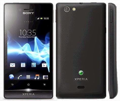 Harga hp Sony Xperia Miro ST23i