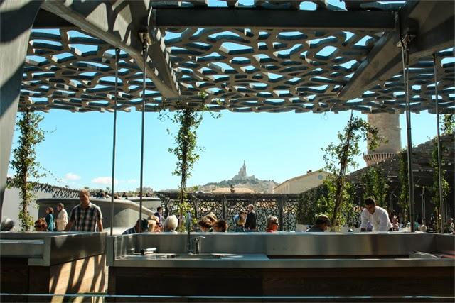 Vue du musée Mucem à Marseille - Blog Marseille