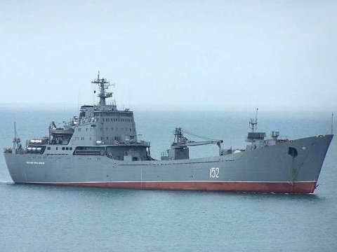 Russia Sends Warship With 'Special Cargo' To Syria