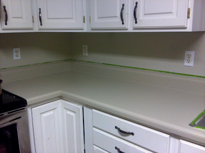 Does Rustoleum Countertop Paint Work : ... cover is gone! I guess it should be gone after several coats of paint