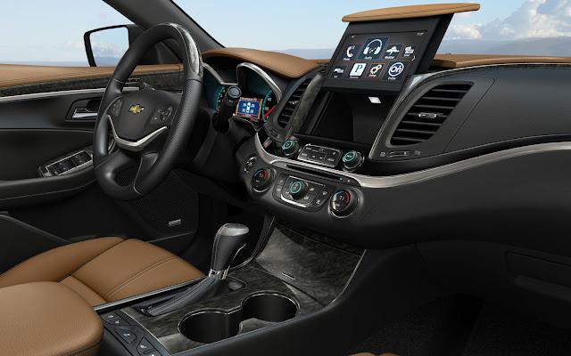 Chevrolet Impala 2013 interior